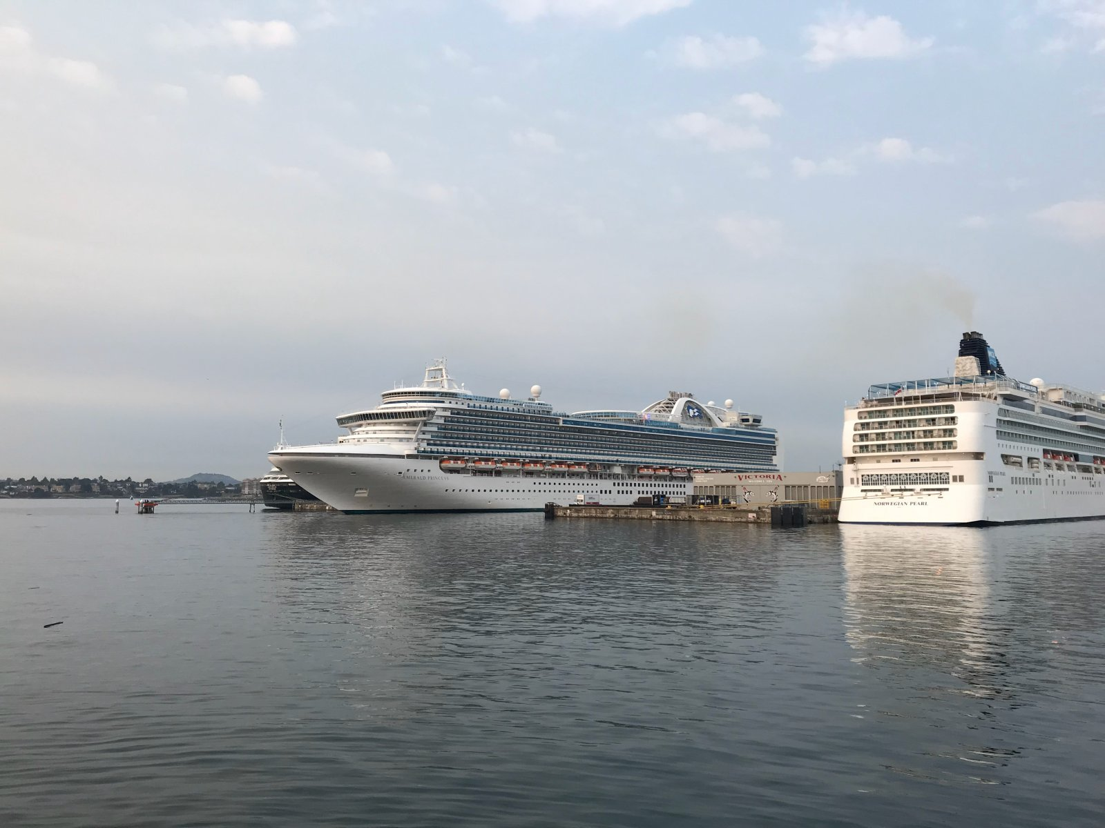 Emerald Princess & Norwegian Pearl