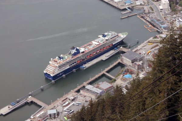 02 Celebrity Millenium at Juneau.JPG