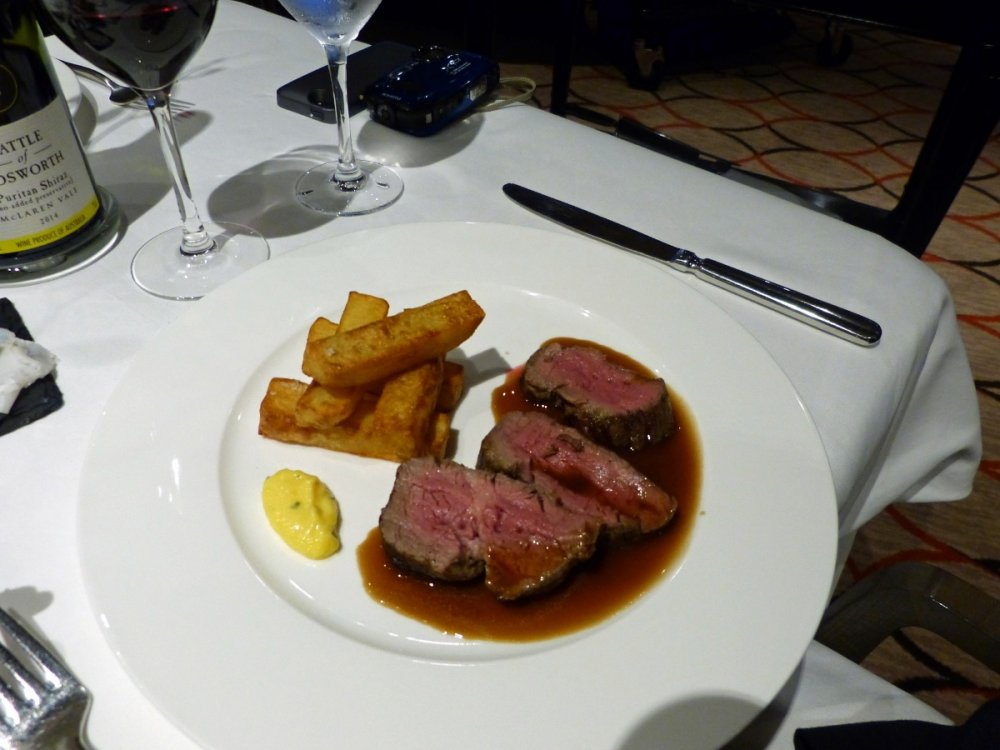 1344 Chateaubriand steak Epicurean Restaurant Azura - Iberian Cruise 2015.jpg