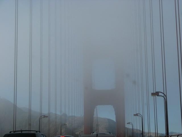 first view of the Golden Gate