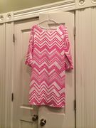 Pink Zig Zag Dress