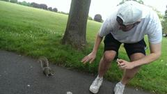 Luke meets squirrel