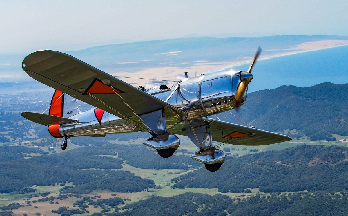 1940 Ryam STM flys for the first time in 60 years