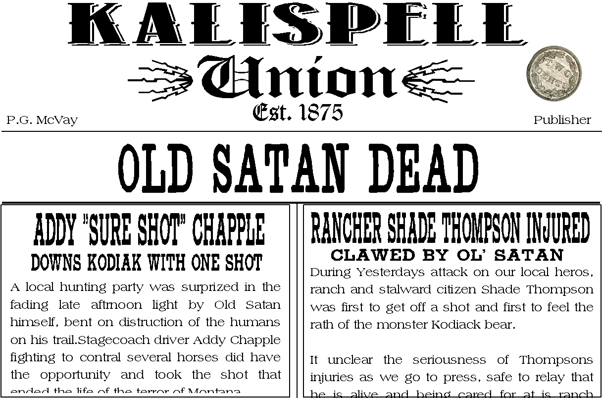 Kalispell Union Back Issues
