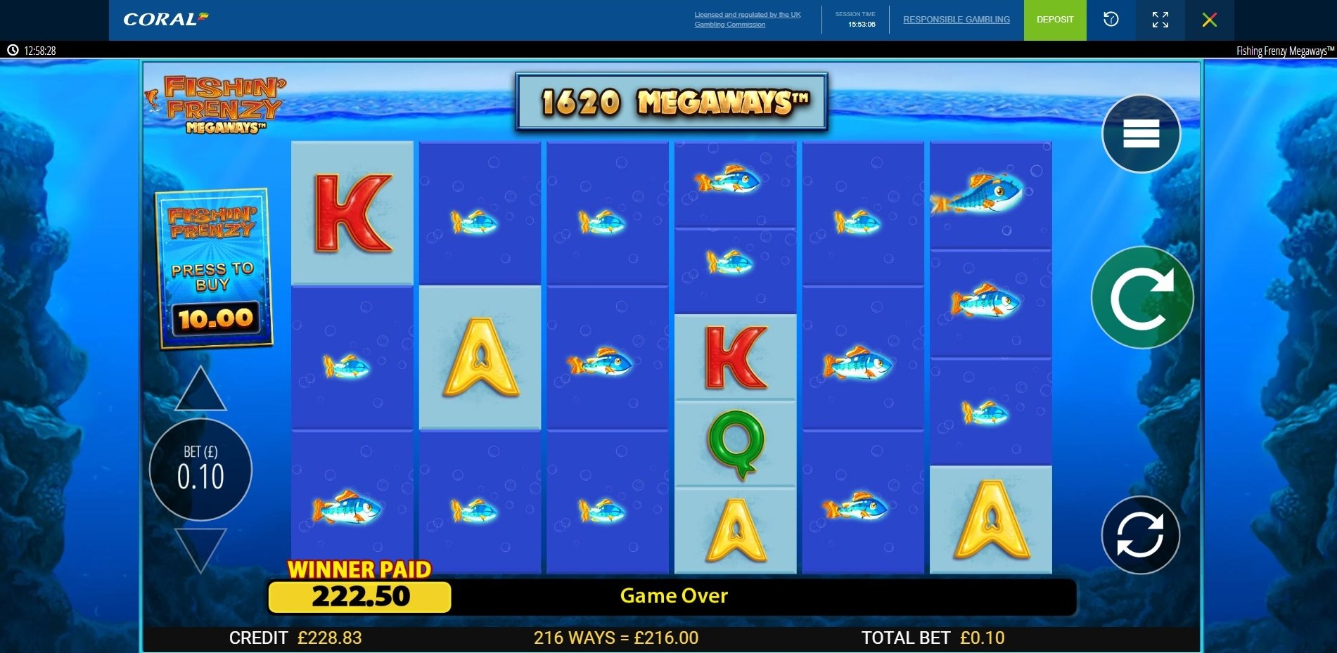 Fishing Frenzy Meageways 2160x Big Wins Aboutslots Forum