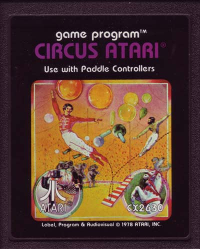 circus atari color cart