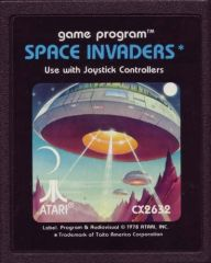 space invaders color cart