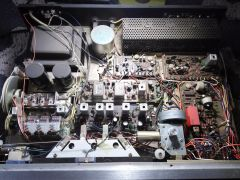 Innards of a stereo