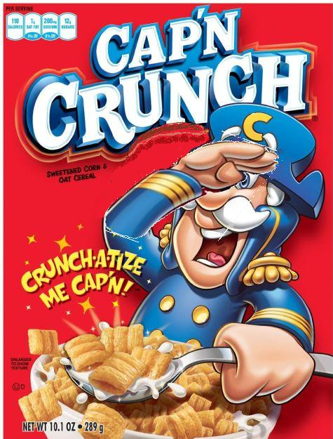 Capt Crunch facepalm