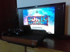 Sega Dreamcast running on the Atari+