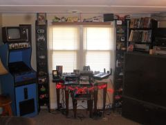early Galaga  PnP livingroom