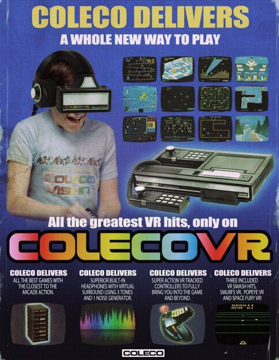 ColecoVR ? - ColecoVision - Atari Forums