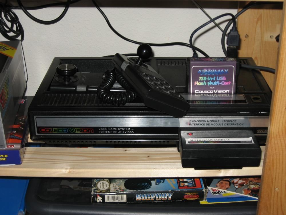 Team Pixelboy offers ROM files as a gift - ColecoVision