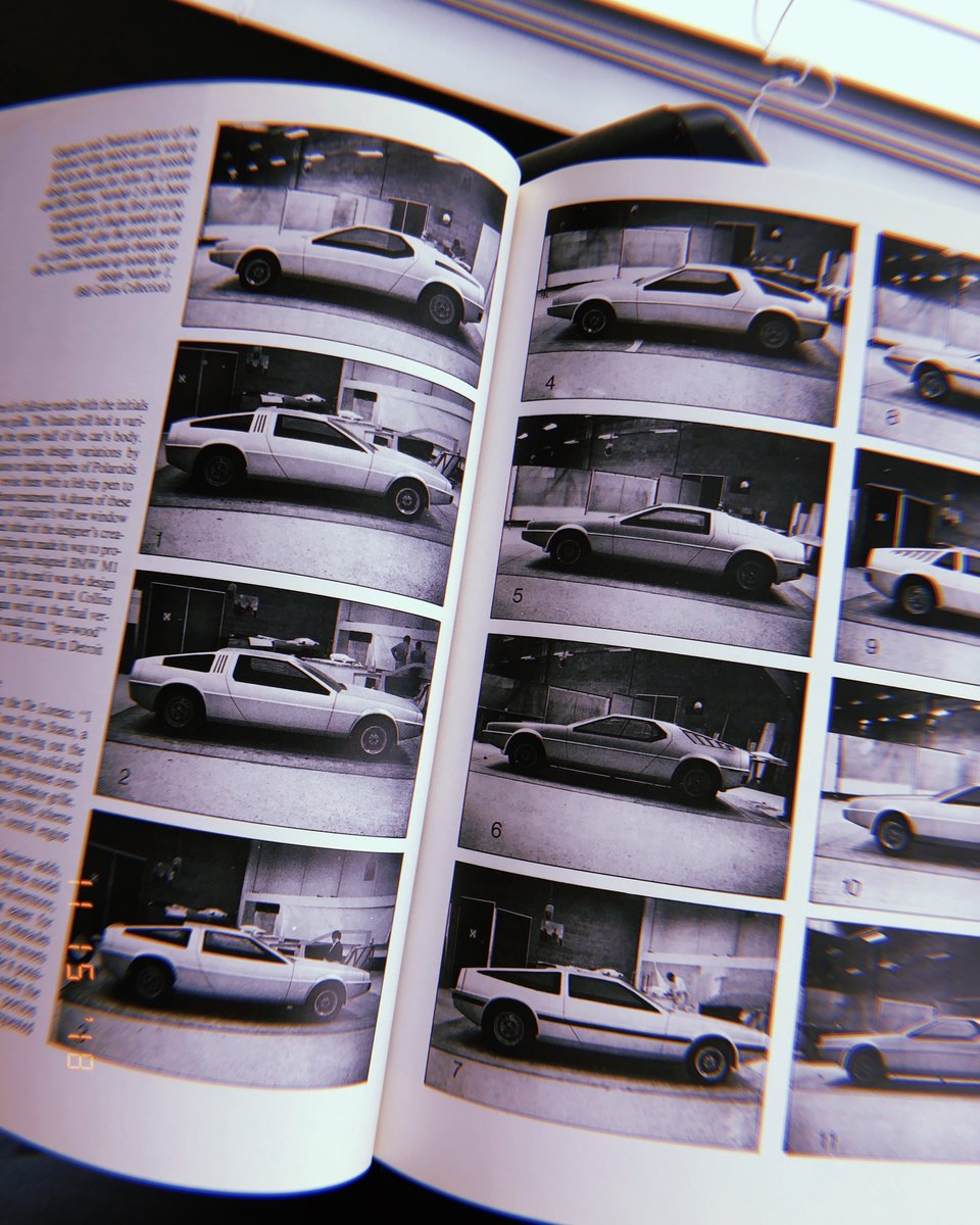 Early design mockups from Italdesign Giugiaro (1975)