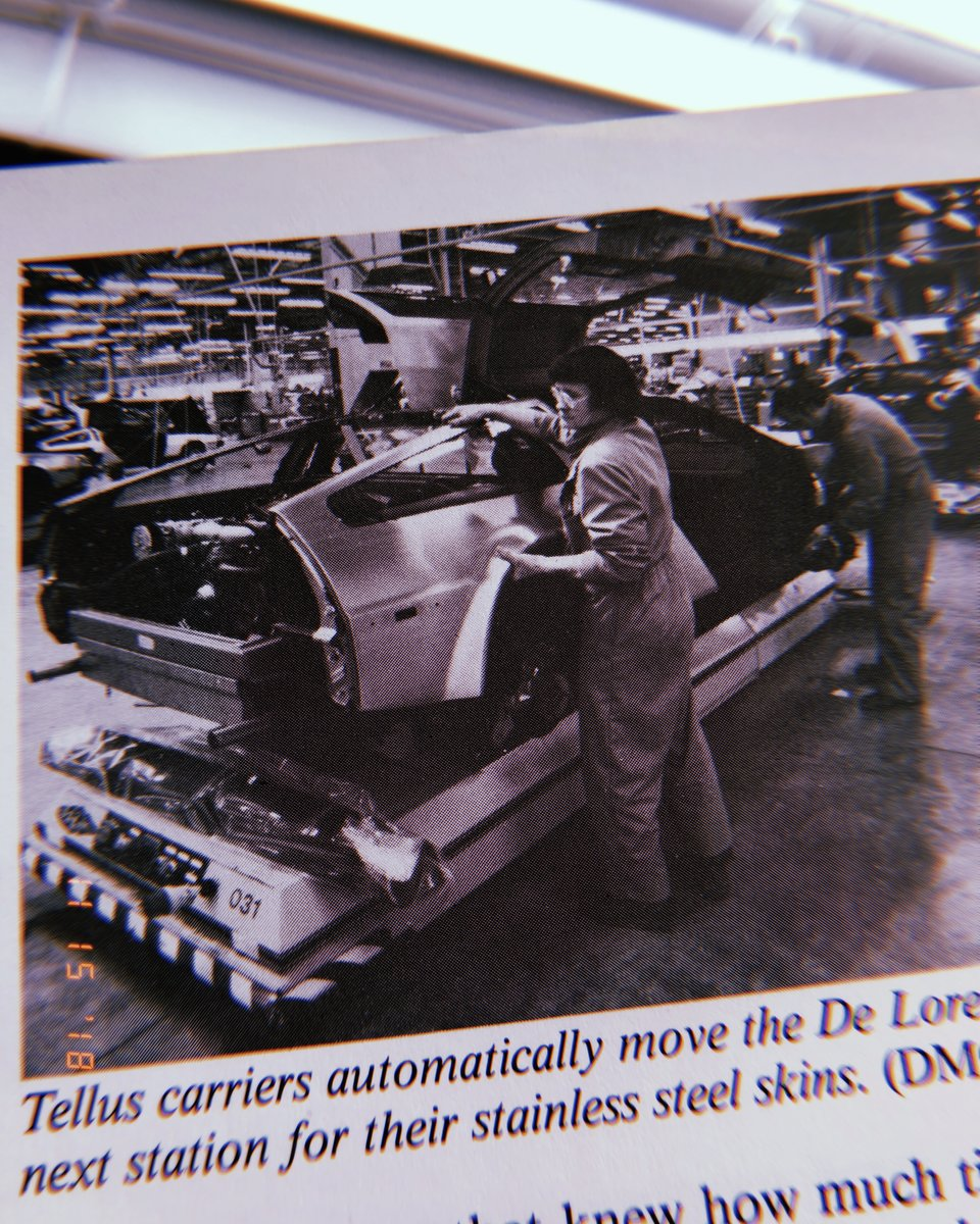 De Lorean assembly (1981)