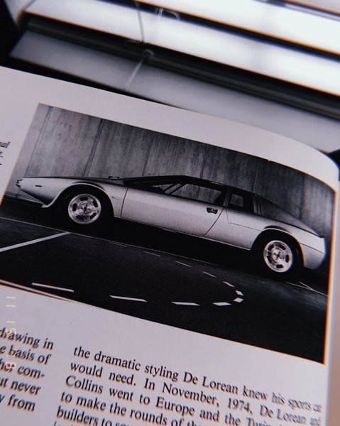 Lotus Esprit was a close engineering cousin to the De Lorean