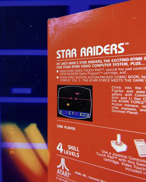 Star Raiders box set for Atari 2600