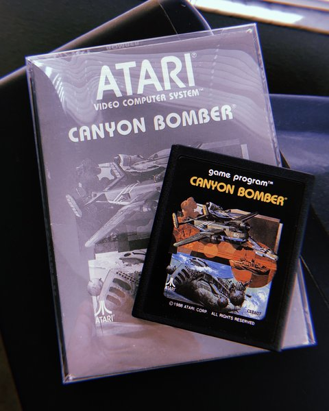 Canyon Bomber for Atari 2600