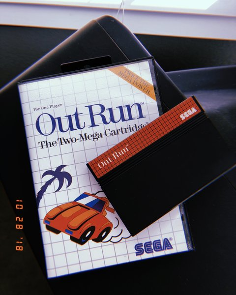Out Run for Sega MasterSystem (1986)