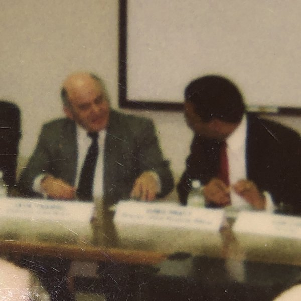 Atari meeting with Jack Tramiel and Sam Tramiel