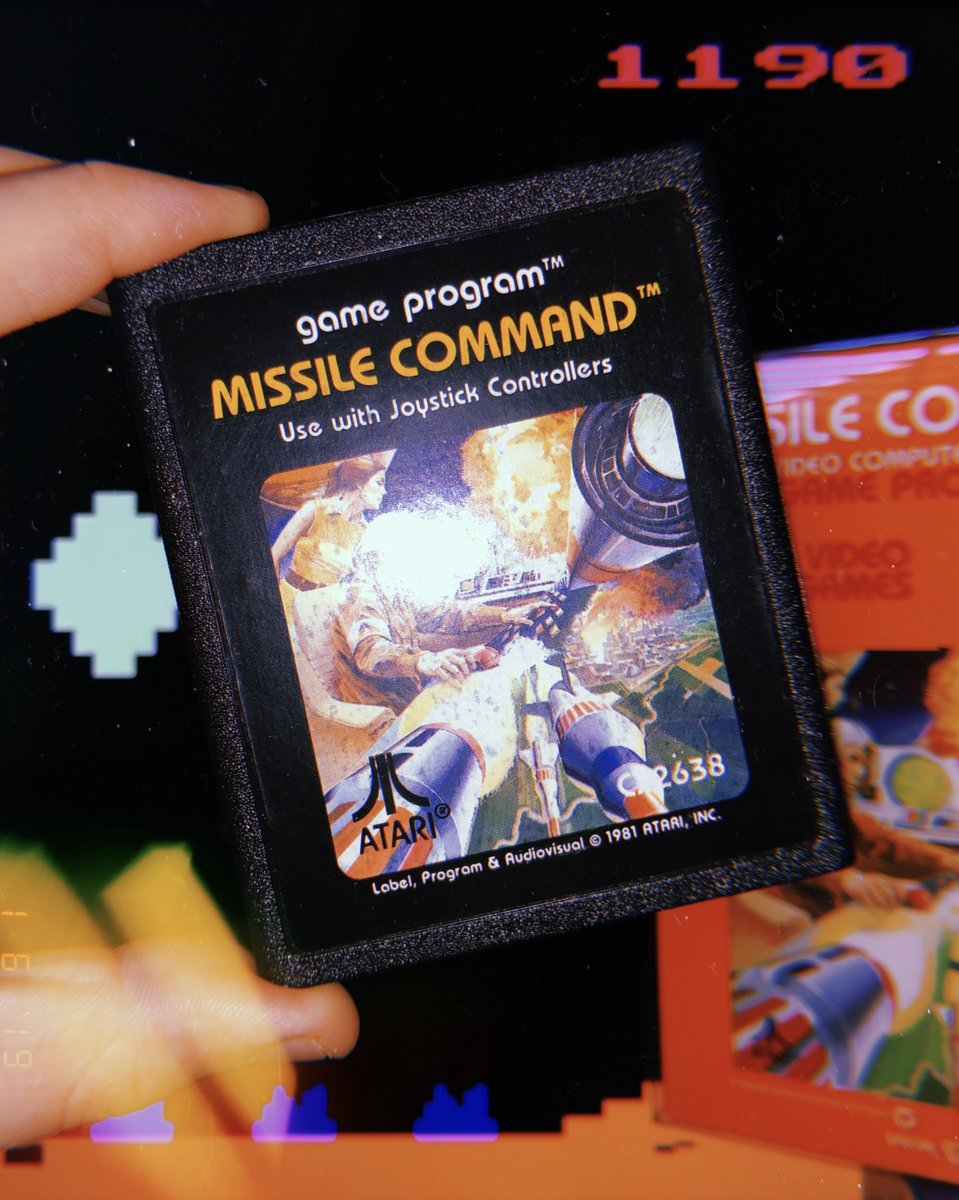 Missile Command for Atari 2600 (1981)