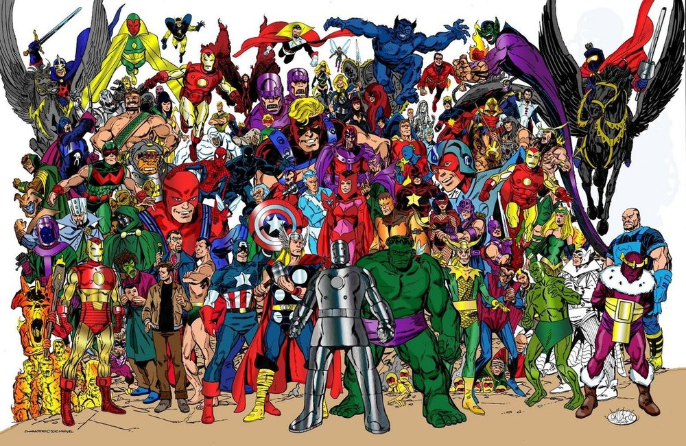 👍😎 Marvel Comics of the 1980s Avengers Forever by John Byrne.jpg