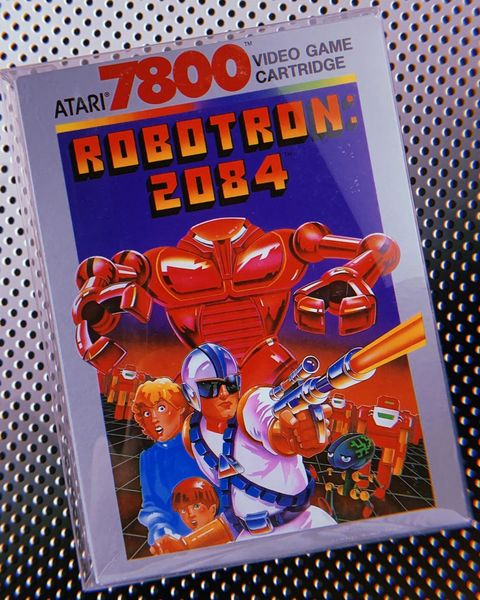Robotron 2014 for Atari 7800