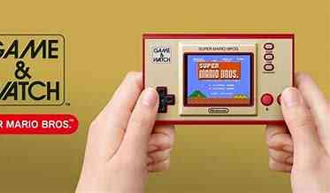 Super Mario Bros 35th Anniversary Game and Watch