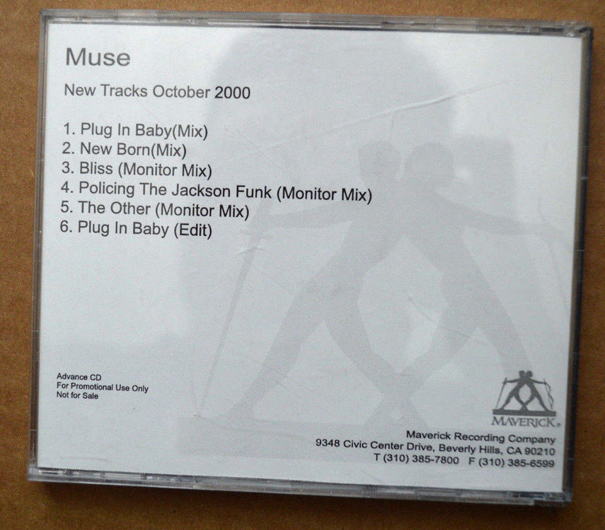 muse new tracks october 2000 maverick promo back.jpg