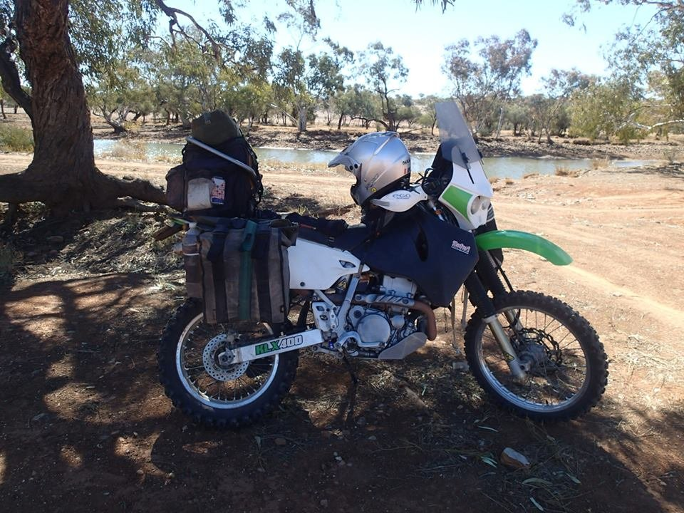 2004 KLX 400 Adventure Mode
