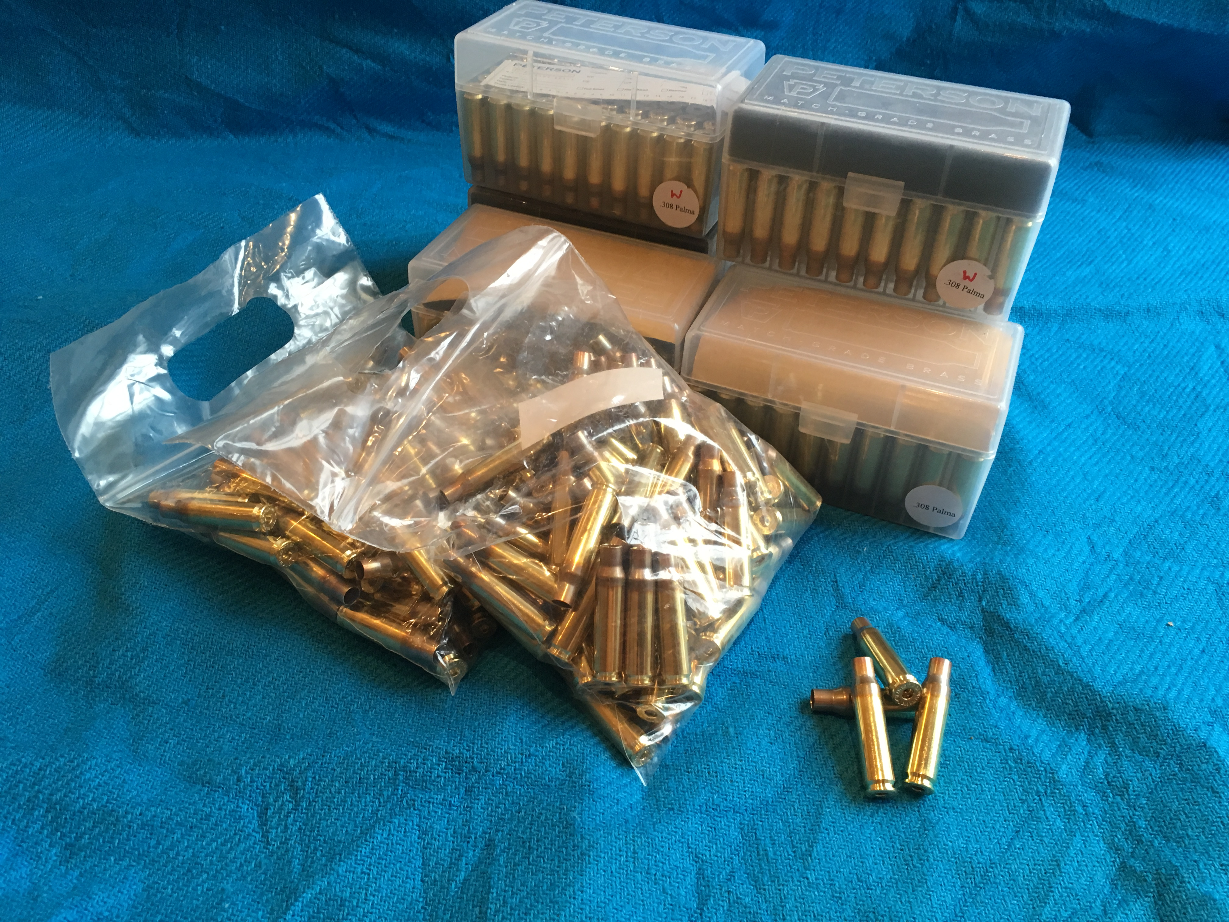 Peterson Brass - Brand new -  308 Palma - For Sale ( UKV Supporter