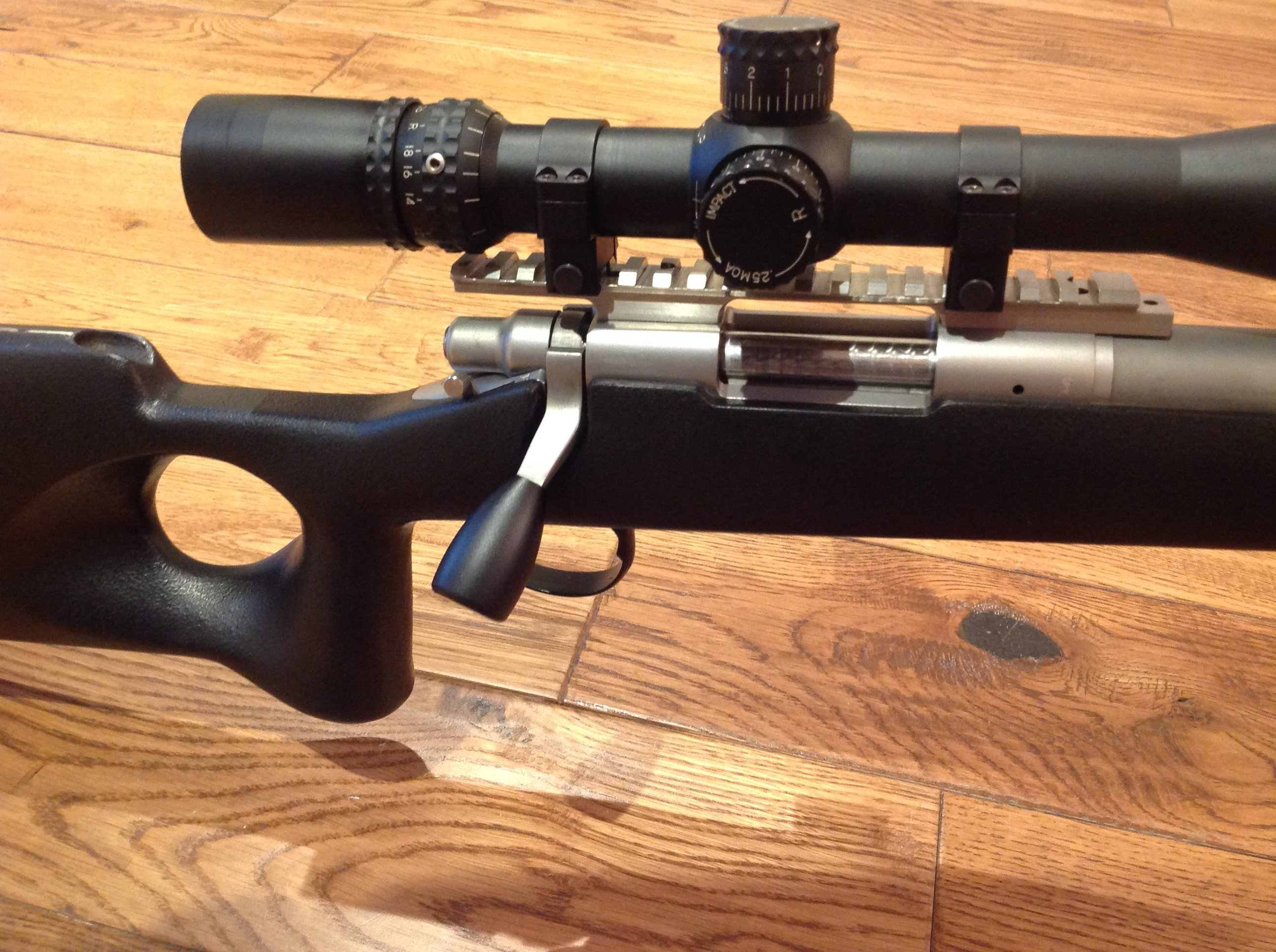 Remington 700 Stainless Steel / 220 Swift AI - For Sale