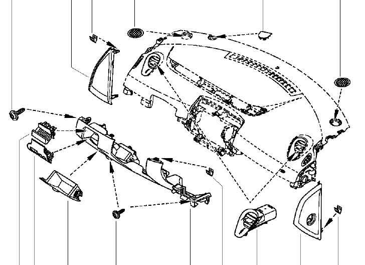 Demonter Planche De Bord Sur Scenic Renault Mecanique Electronique Forum Technique Forum Auto