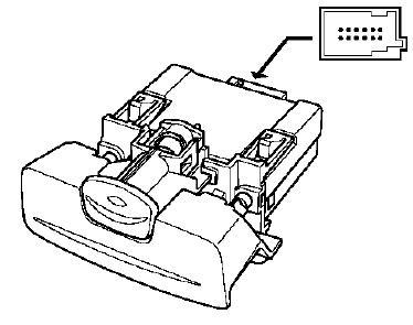 câble de frein de... Frein à main électronique Renault Vel Satis