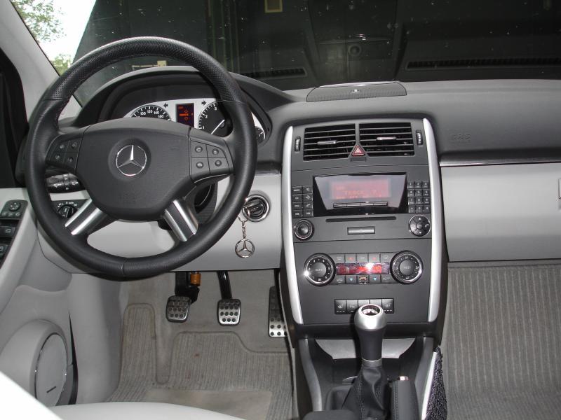Volant multifonctions en cuir noir Mercedes B-Class W245