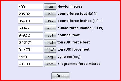 Difference Entre Nm Et Kg Autres Themes Divers Mecanique Electronique Forum Technique Forum Auto