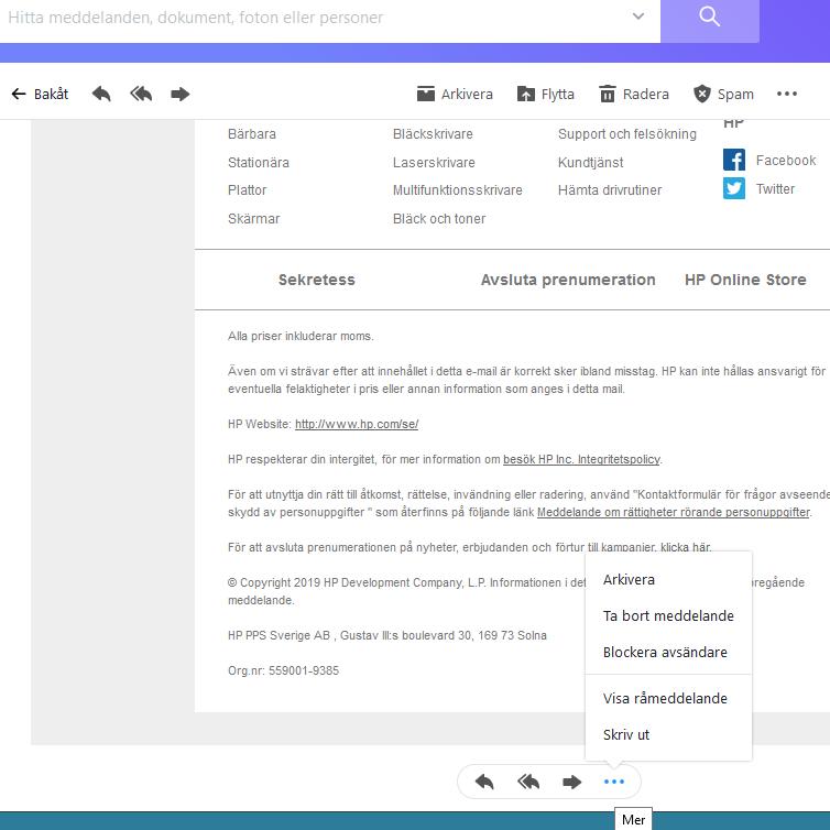 Yahoo Mail Sverige