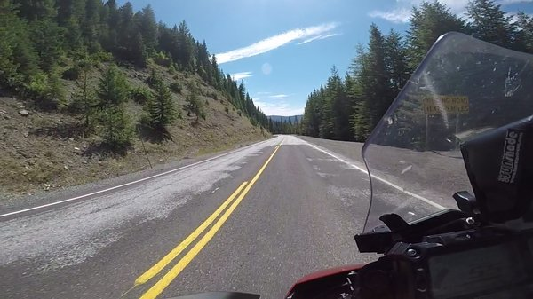 99 miles of curvy road...Lolo pass