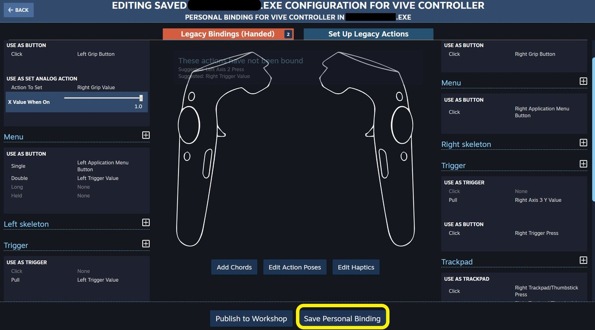 Questions about the custom buttons for the controller