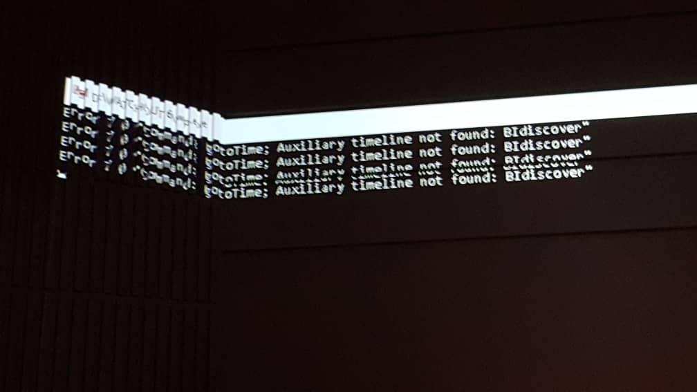 watchout 6 udp discover message appear - WATCHOUT FORUM