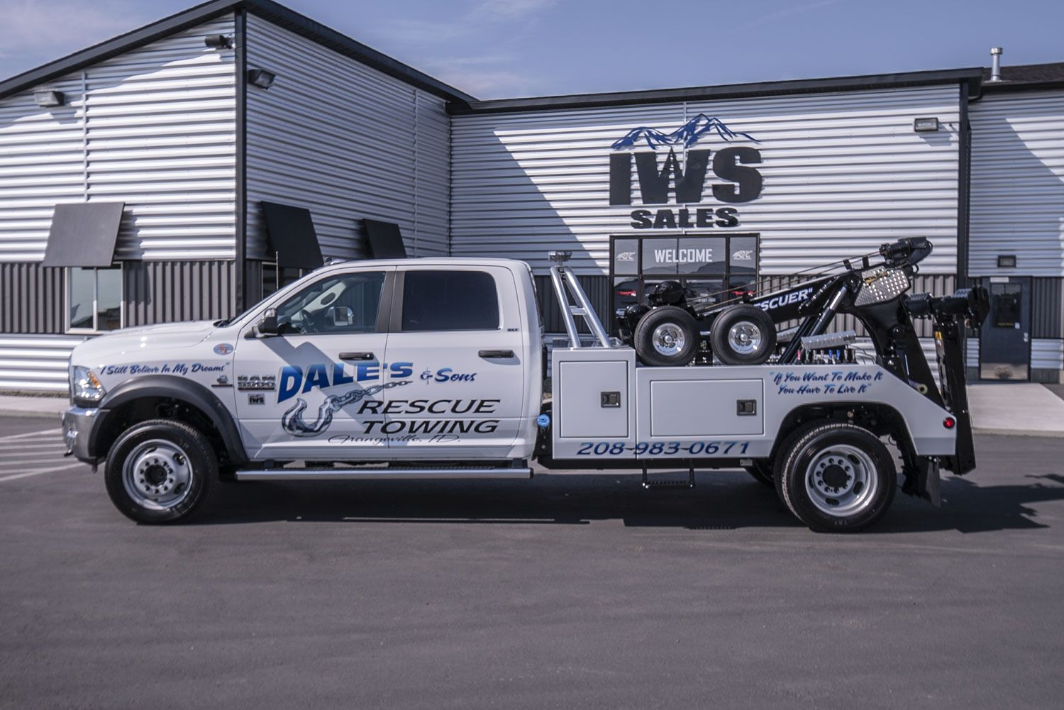 Latest Wrecker Build From IWS Sales - Company Equipment - TowForce