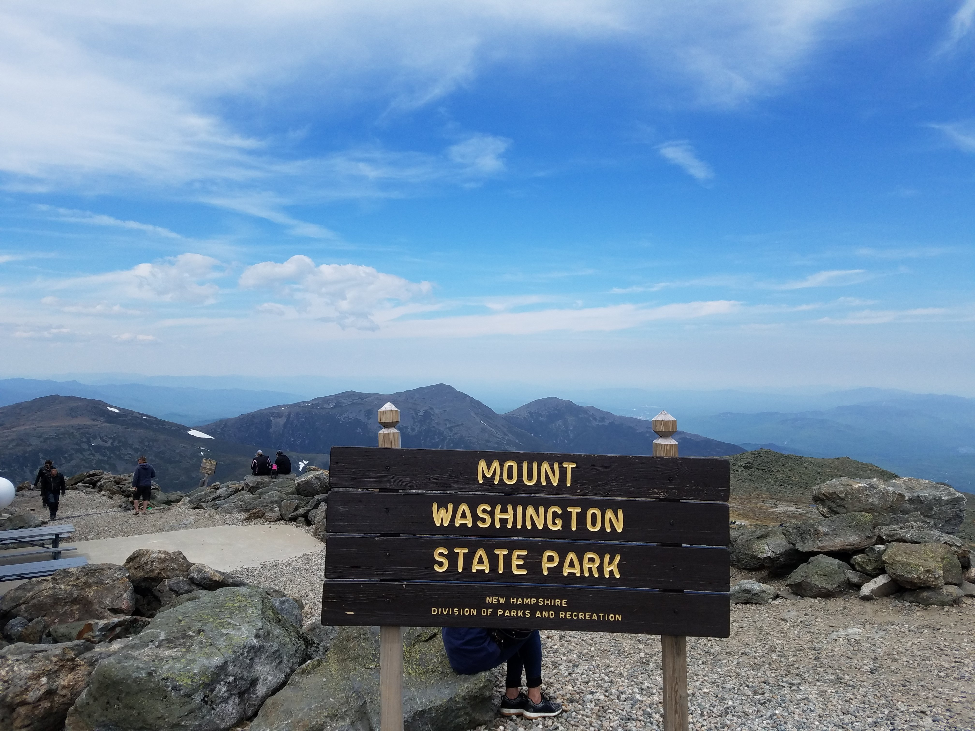 Monday June 10 - Mount Washington