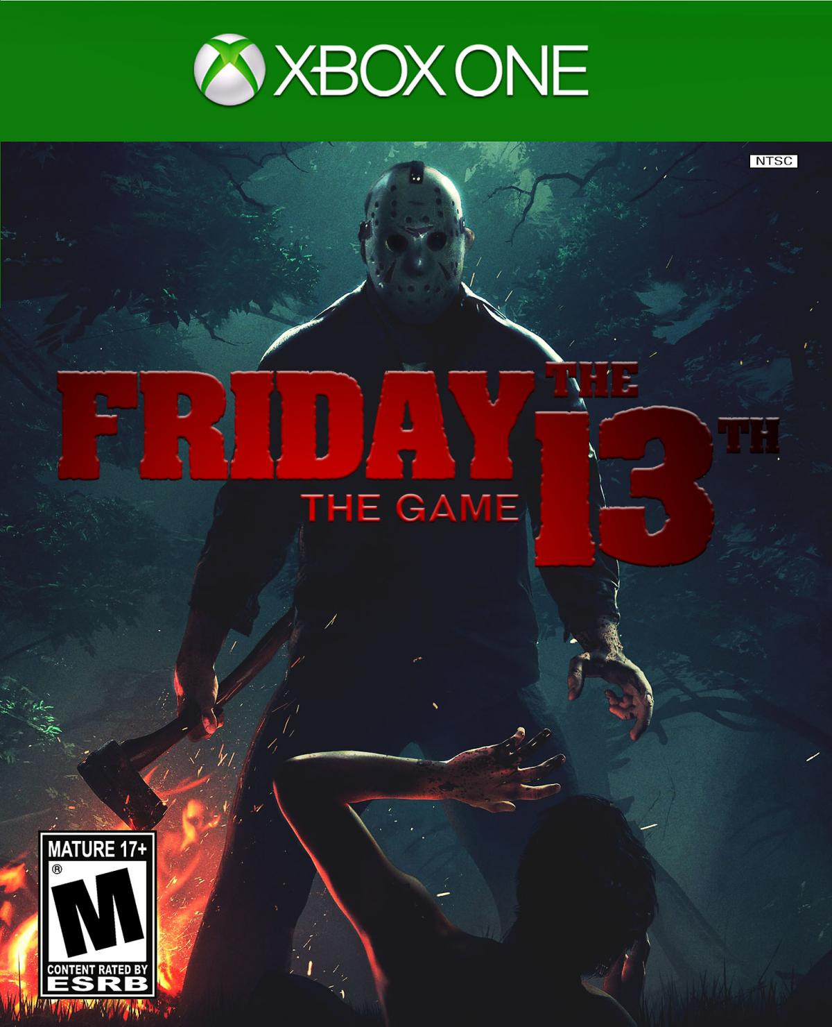 Book Cover Diy Xbox One : Quot friday the th game ps xbox one box art