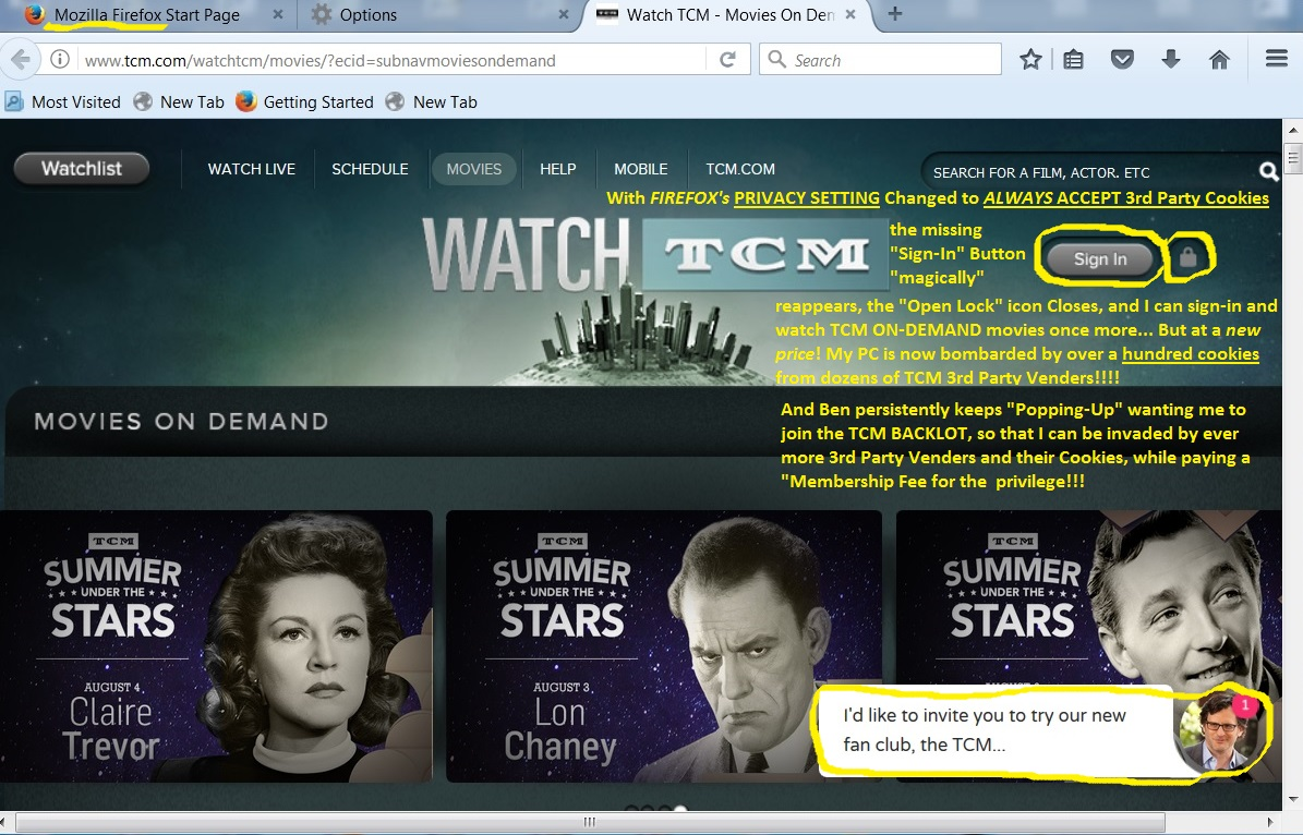 what's up with tcm on-demand? again.??? - page 2 - problems with