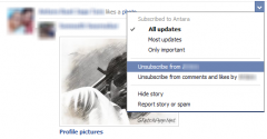 unsubscribe facebook friends
