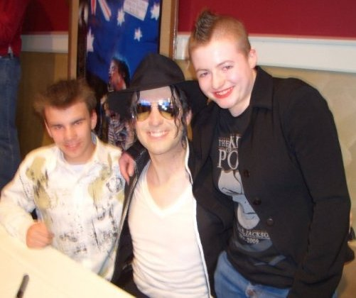 Me, Fraser And Paul Rizzo