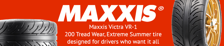 Maxxis VR-1 - Extreme Summer tire designed for drivers who want it all