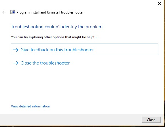 1603 Error - diagnostic tool - Troubleshooting & Bug Reports - paint