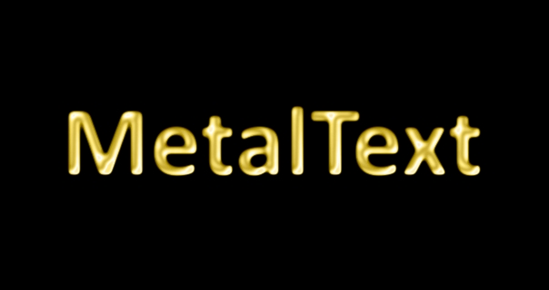 Gold Metal - Text Effects - paint net Forum