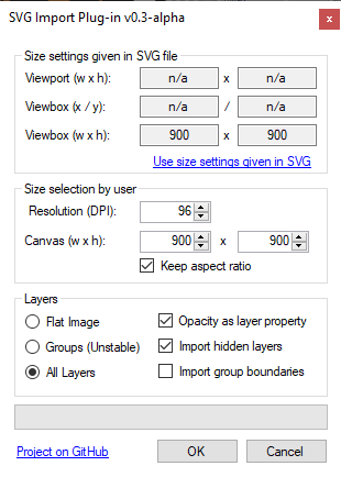 Scalable Vector Graphics' FileType Plugin ( SVG,  SVGZ